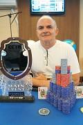 Marcos Pinto - 8ª Etapa do CCTH - Campeonato Carioca de Texas Holdem - 150K GTDS