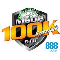 Mandala Series of Poker - MSOP 100K GTD SPECIALE - Dia 1A