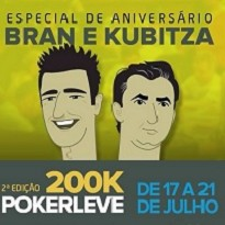 200K GRT  PokerLeve H2 Club - Anivers�rio Bran e Kubitza -  Dia Final