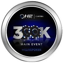 H2 Club Curitiba – Torneio de Inauguração 300K GTD - Dia 1L