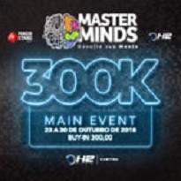 Masterminds – Main Event 300K GTD - Dia 1A