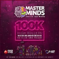 MASTERMINDS 10 - High Roller 100K  Gtd - Dia 1
