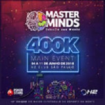 MASTERMINDS 10 - Main Event 400K Gtd - Dia 1A