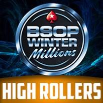 5ª ETAPA WINTER MILLIONS 2019 -  HIGH ROLLERS - 1,25M GTD - Dia 1
