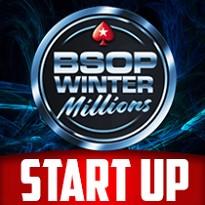 5ª ETAPA WINTER MILLIONS 2019 - START UP - 800K GTD - Dia 1A