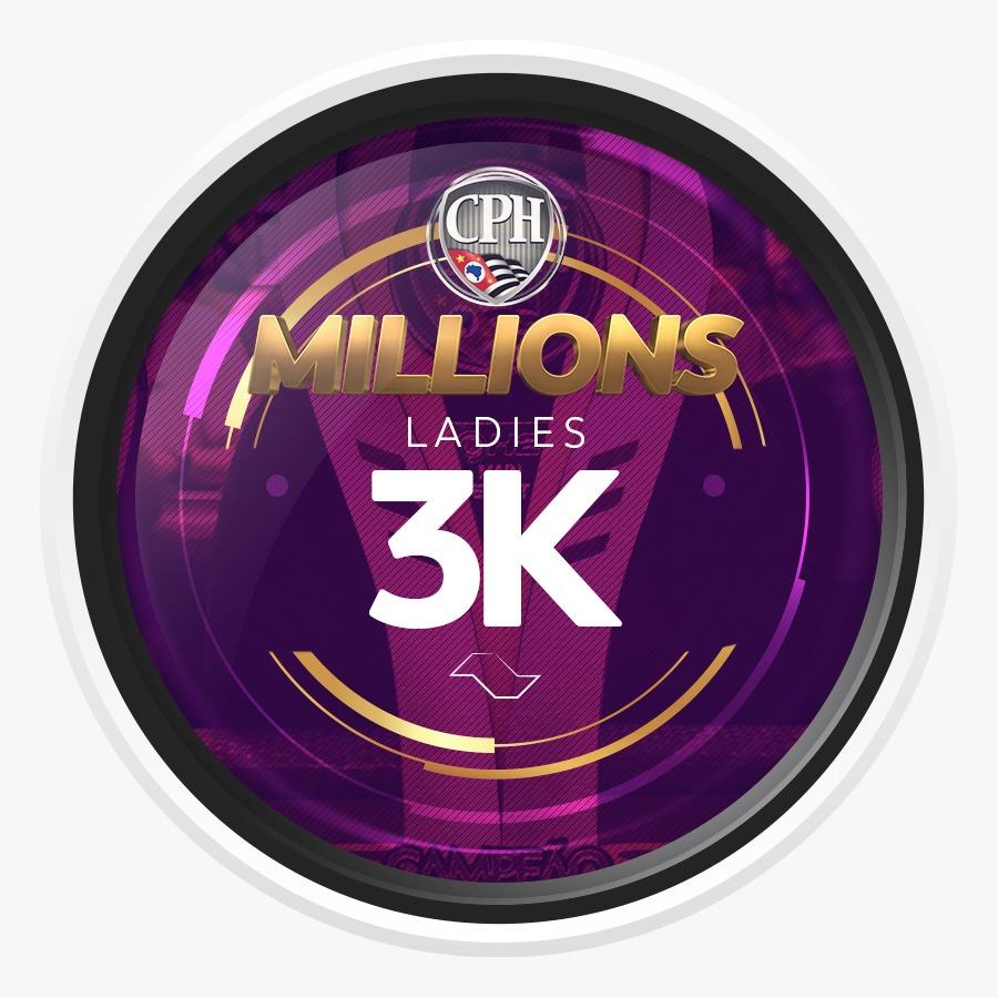 ETAPA MILLIONS CPH 2020- Ladies 3K Gtd