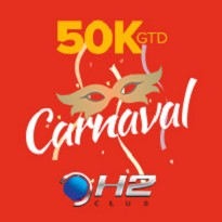 H2 Club Folia - 50K Garantidos - Dia 1D