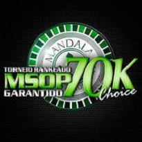 Mandala Series of Poker - MSOP 70k CHOICE - Dia 1B