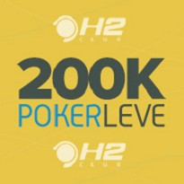 200k Garantidos  PokerLeve H2 - Dia 1A
