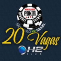 WSOP- Mega Satélite H2 Club 20 Vagas Garantidas