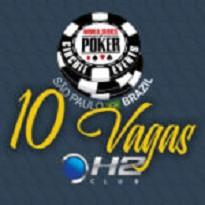 WSOP- Satélite H2 Club 10 Vagas Garantidas