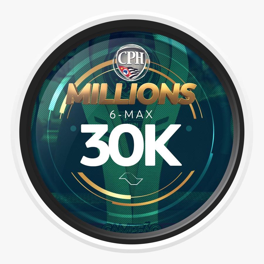 ETAPA MILLIONS CPH 2020 – 6-MAX 30K GTD