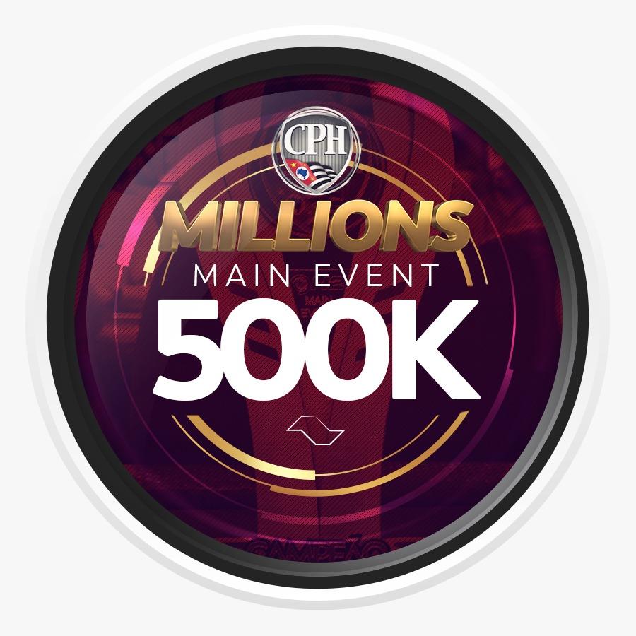 ETAPA MILLIONS CPH 2020 – MAIN EVENT 500K GTD - Dia 1A
